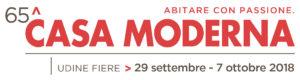 Read more about the article 65^ Casa Moderna, Udine Fiere, 29 settembre – 7 ottobre 2018