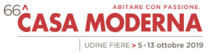 Read more about the article 66^ Casa Moderna, Udine Fiere, 5 – 13 ottobre 2019