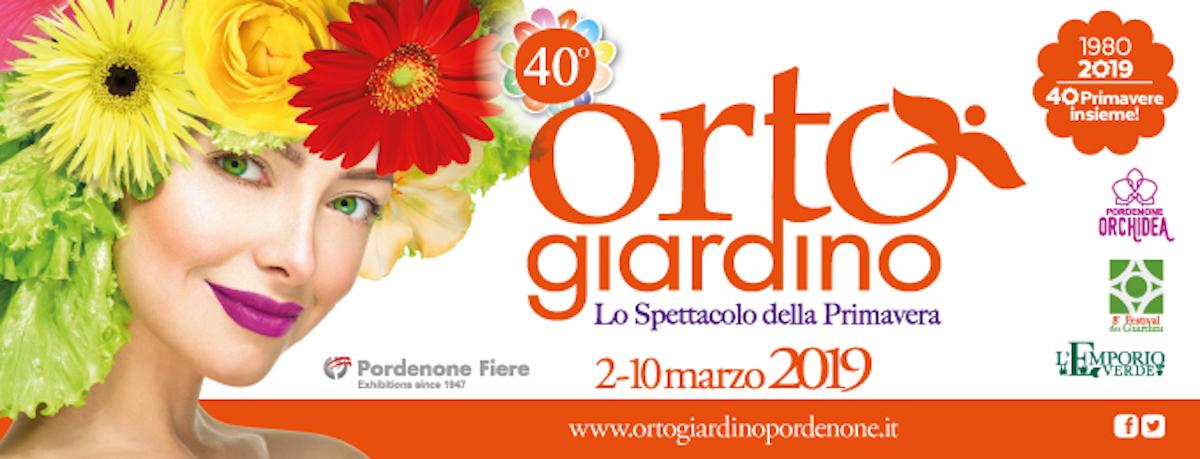 Read more about the article Orto Giardino, Fiera di Pordenone 02-10 marzo 2019